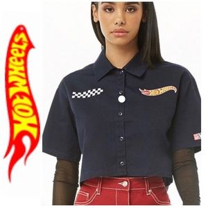 Hot Wheels Crop Top